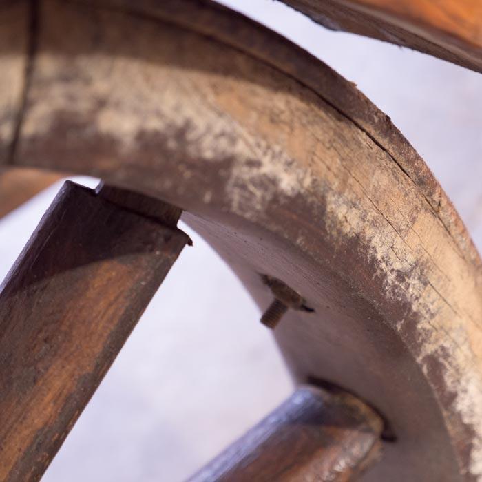 Wagenrad Detail