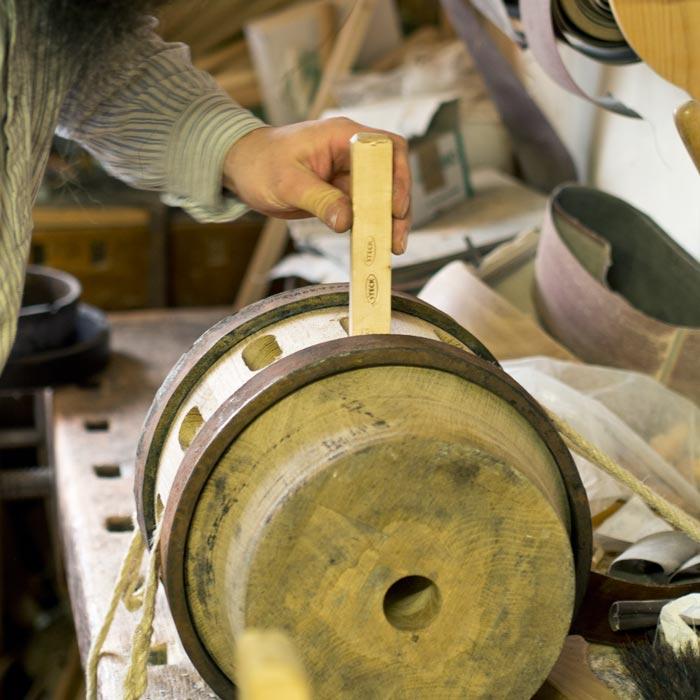 Wagenradherstellung